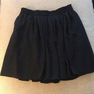 Ann Taylor Loft Skirt with Sheer Overlay